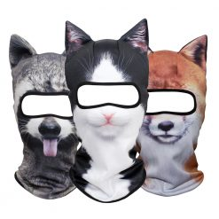 Full Outdoor Face Mask Balaclava Cat Dog