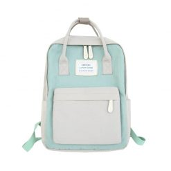 Canvas Backpack Green