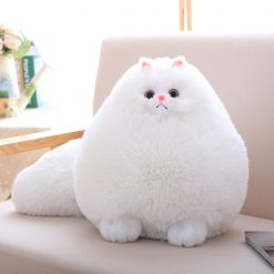 Fluffy Persian Cat Plush Toy