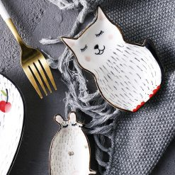 Ceramic Tableware Animal Plates