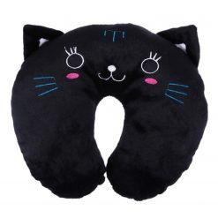 Black Cat Travel Neck Pillow