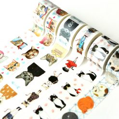Cat Washi Tape 1 Roll